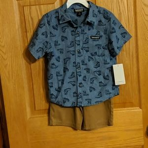 NWT 5t Boys Timberland Outfit